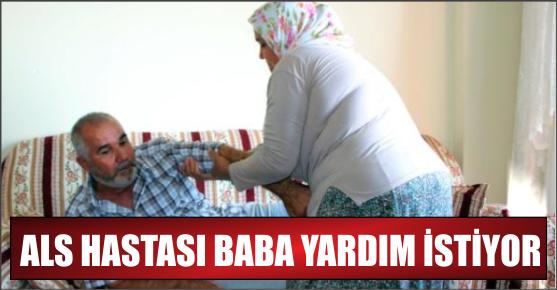 ALS HASTASI ADAM BUZ DEĞİL YARDIM İSTİYOR