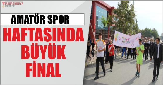 AMATÖR SPOR'DA BÜYÜK FİNAL
