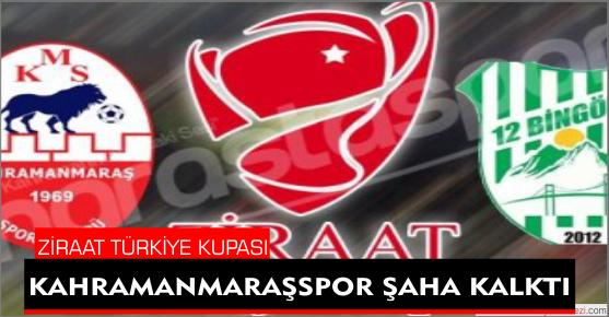 KAHRAMANMARAŞSPOR 12BİNGÖLSPOR'U 4-2 YENDİ