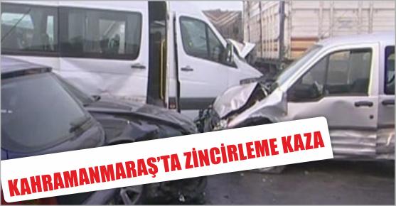 KAHRAMANMARAŞ'TAKİ KAZADA 9 YARALI