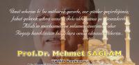 Mehmet SAĞLAM Kandil Mesajı Yayımladı