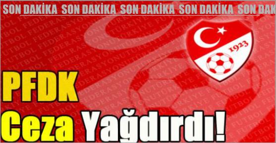 PFDK'DAN KAHRAMANMARAŞ BÜYÜKŞEHİR BELEDİYESPOR'A CEZA