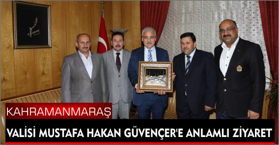 ŞEVKET BOZDOĞAN'DAN VALİ GÜVENÇER'E...
