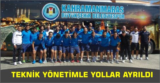 TEKNİK YÖNETİMLE YOLLAR AYRILDI
