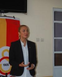 Koordinatör Üner Galatasaray Futbol Okulu'ndan mem