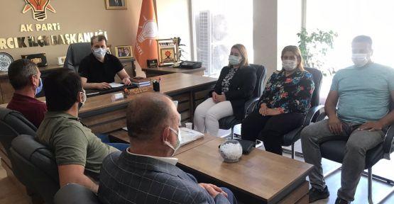 ANADOLU KAHRAMANMARAŞ ŞEHİT VE GAZİ AİLELERİ DERNEĞİ'NDEN SERİ ZİYARET