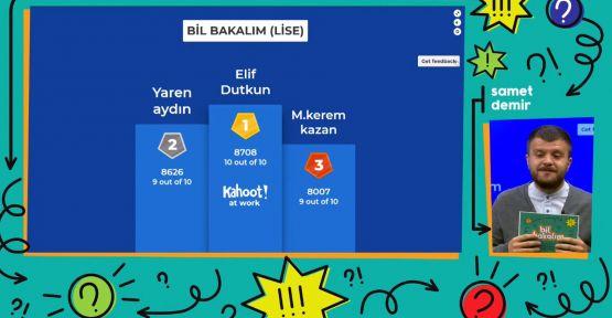 """""""BİL BAKALIM"""" ÖĞRETEREK KAZANDIRIYOR"""