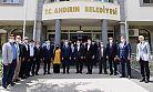 BAŞKAN GÜNGÖR, ANDIRIN BELEDİYESİ'Nİ ZİYARET ETTİ