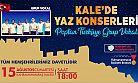 KALE'DE YAZ KONSERLERİ DEVAM EDİYOR