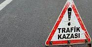 MARAŞ'TA TRAFİK KAZASI: 1 ÖLÜ 4 YARALI